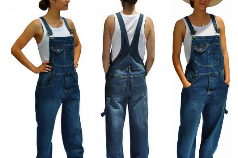 La salopette vintage : en jean, délavée, loose… tout un univers à découvrir